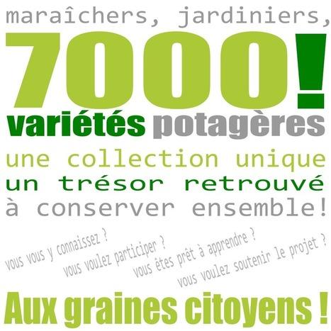 Aux graines citoyens ! Une collection de 7000 variétés potagères à conserver ensemble !   Code Planète   Scoop.it