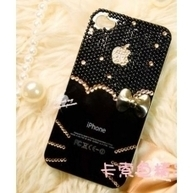 Black Diamond bling iPhone 4, 4S protective case | Apple iPhone and iPad news | Scoop.it