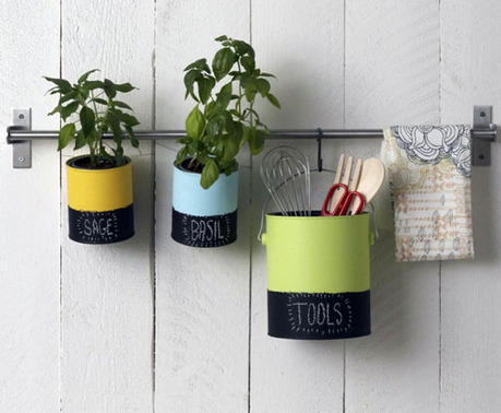 Perk Up Your Organization Using Paint Cans | Home & Office Organization | Scoop.it