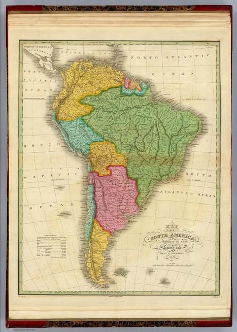 Latinoamérica a través de 12 mapas antiguos | Geografía Infinita | Pasión por la Geoinformación | Scoop.it
