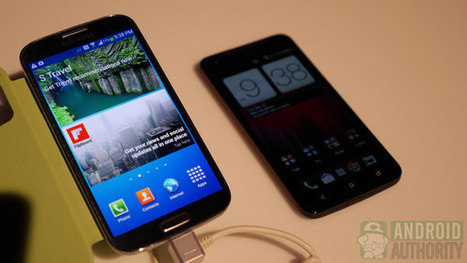Samsung Galaxy S4 vs HTC Droid DNA | Mobile IT | Scoop.it