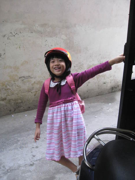 Con đi học nhé, chiều con lại về   What is little girl made of?   Scoop.it