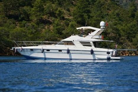 Perla motor yacht Gocek 16,5m 6 person boat rental | Yacht Charter & Blue Cruise Destinations | Scoop.it