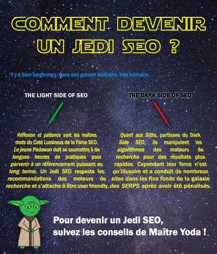 Infographie : Devenez un Maître Jedi du SEO ! - Actualité Abondance | e-Veille : Social Media, Marketing, NTIC ... | Scoop.it