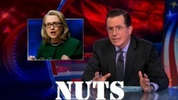 Colbert: Hillary Stomped Ron Johnson's 'johnson' in Benghazi Hearing! (video) | Americans Against the Tea Party | Daily Crew | Scoop.it