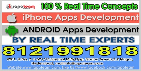 Rapoteam - IOS & iPhone Applications Development Training Team | RapoTeam (Mobile Application Development Training Team), | Scoop.it