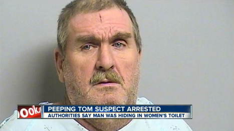 Shit-Covered Man Caught Peeping On Women from Inside Restroom Toliet | Content Ideas for the Breakfaststack | Scoop.it