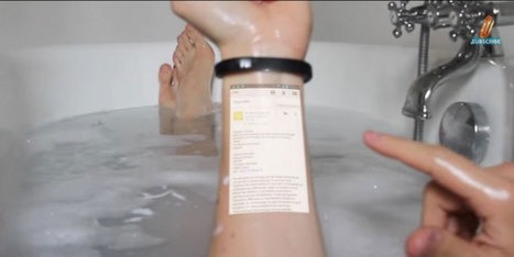 Cicret Bracelet Makes your Skin Interactive Tablet | TECH NEWS, MOBILE APPS - GAMES, Virtual Reality, Unity3D | Scoop.it