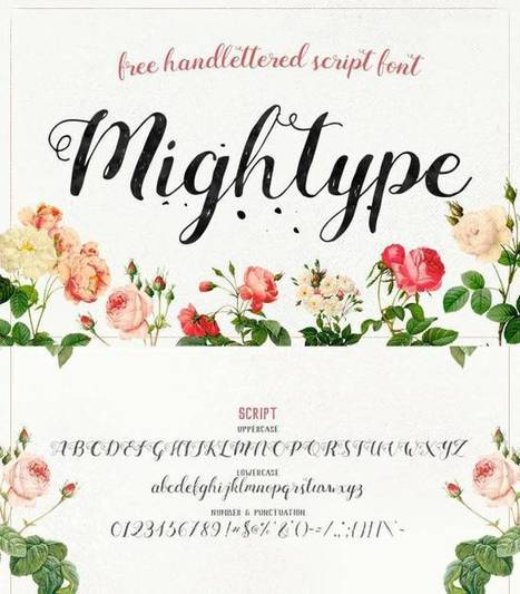 5 typos qui imitent l'écriture manuscrite – Les Outils Tice | François MAGNAN  Formateur Consultant | Scoop.it