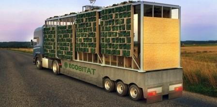 ECObitat: Casa modular transportable | Plataforma Arquitectura | Jardines Verticales y azoteas verdes. | Scoop.it
