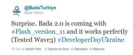 Bada 2.0 : mise à jour disponible en novembre, intègre le Flash ... | Smartphones&tablette infos | Scoop.it