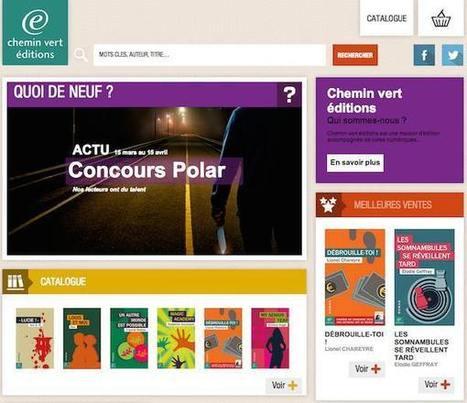 Chemin vert éditions : label éditorial exclusivement numérique | Nouveaux modèles et nouveaux usages | Scoop.it