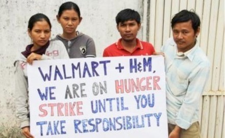 Walmart and H&M: Kingsland Workers will Commence Hunger Strike | Asian Labour Update | Scoop.it