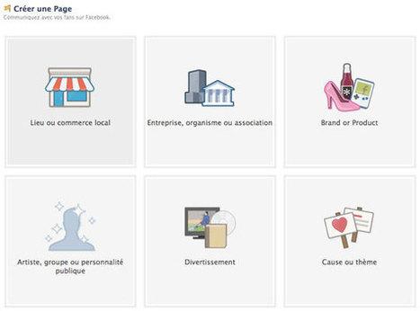 Comment Choisir Le Bon Type De Page Facebook Pour Votre Activité?   Emarketinglicious   Webmarketing des TPE et PME   Scoop.it