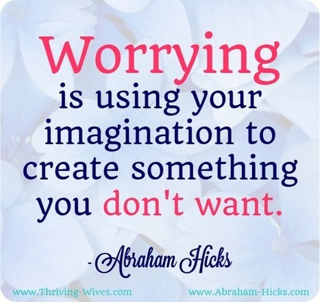 All About Living With Life: 20 Worry Quotes to Stop You From Worrying | You & Your  Life | Scoop.it