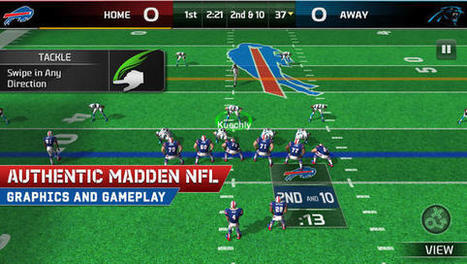 EA Sports Releases Free-To-Play Madden NFL 25 for iOS - Mac Rumors | Social Studies | Scoop.it