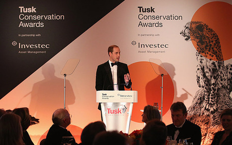 Prince William honours Africa's wildlife guardians - Telegraph.co.uk   My Funny Africa.. is this the lions last roar?   Scoop.it