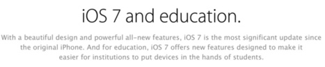 Apple Revises iTunes Terms and Conditions to Allow Educational iTunes Accounts for Children Under 13 | ADP Center for Teacher Preparation & Learning Technologies | Scoop.it