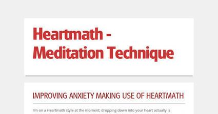 Heartmath - Meditation Technique   Health   Scoop.it