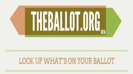 Voter Information Guides Go Social With TheBallot.org   eParticipate!   Scoop.it