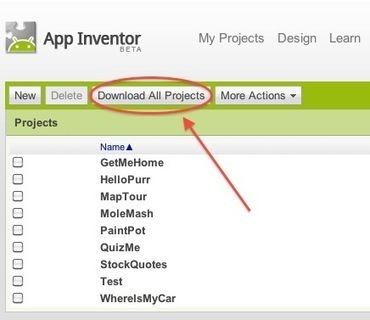 Don't forget to download App Inventor projects before Dec. 31 | Do The Robot | Scoop.it
