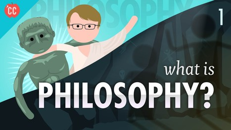 Crash Course Philosophy: Hank Green's Fast-Paced Introduction to Philosophy Gets Underway on YouTube | Digital Philosophy | Scoop.it