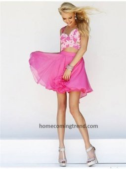 2014 Cut Out Lace Pink Short Homecoming Dresses [short homecoming dresses 2014] - $164.00 : Customized prom dresses,homecoming dresses,wedding dresses,Save up to 65% | prom dresses 2014 | Scoop.it