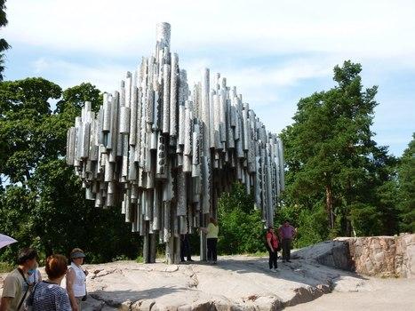 Eila Hiltunen: Memorial - Sound organ sculpture | Art Installations, Sculpture, Contemporary Art | Scoop.it