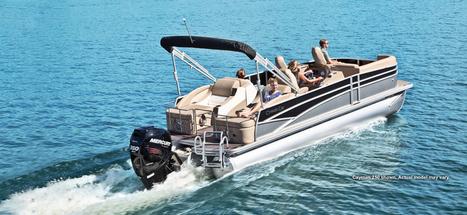 Cayman 210 Pontoon Boat   Luxury Pontoon Boat   Fishing Pontoon Boat : 2014   Pontoon Boats   Scoop.it