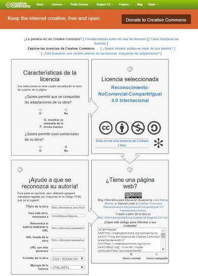 Nueva licencia Creative Commons 4.0 Internacional. ¡Defendamos nuestras ideas y materiales! | Educacion, ecologia y TIC | Scoop.it