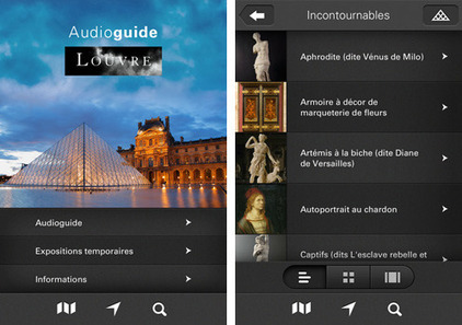 WiFi, QR Code, in-app : Le Louvre multiplie les portes d'accès à ses applications mobiles | Art and museums | Scoop.it
