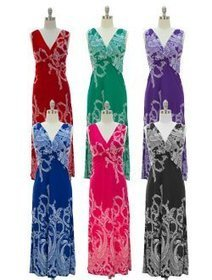 Paisley Knotted Maxi Dress | Summer Dresses | Scoop.it