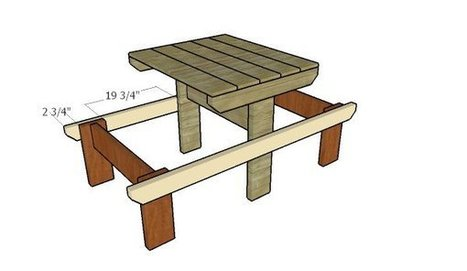 Plans For A Picnic Table | HowToSpecialist - How to Build, Step by Step DIY Plans | Garden Plans | Scoop.it