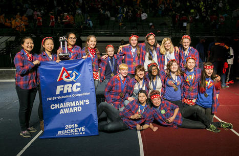 Pittsburgh's Girls of Steel Robotics Team Advances to Championship | Using Technology to Transform Learning | Scoop.it