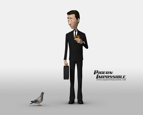 Pigeon impossible: une animation en image de synthèse digne de Pixar | Infographie 3D | Scoop.it