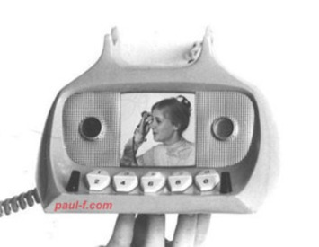 Hey, cam girls & cam watchers: Vintage video phone concept | Phone Sex | Scoop.it