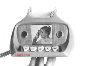 Hey, cam girls & cam watchers: Vintage video phone concept   Phone Sex   Scoop.it