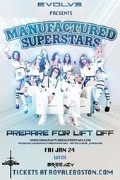 Manufactured Superstars - Tickets - Royale Nightclub - Boston, MA, January 24, 2014 | Ticketfly | Boston Nightlife | Scoop.it
