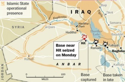 #WARNING Islamic State seizes third Iraqi army base in #Anbar province after military retreat [refer to map attach]   News You Can Use - NO PINKSLIME   Scoop.it