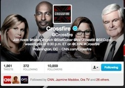 An inside look at how CNN's Crossfire has become the ultimate social TV show - Lost Remote | screen seriality | Scoop.it