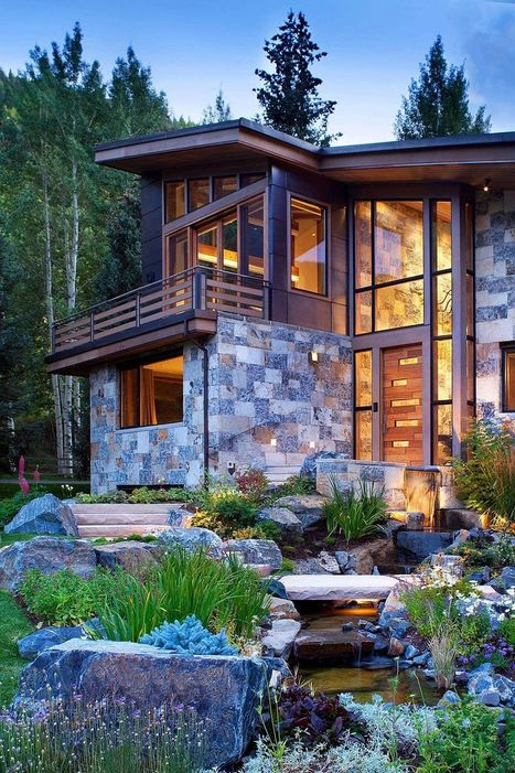 Colorado Mountain Home by Suman Architects Leaves Your Awestruck | What Surrounds You | Scoop.it