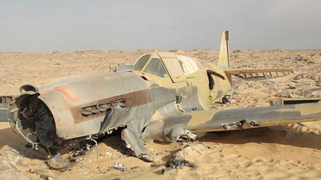 Oil worker finds a nearly intact WWII-era Kittyhawk deep in the Sahara | Strange days indeed... | Scoop.it