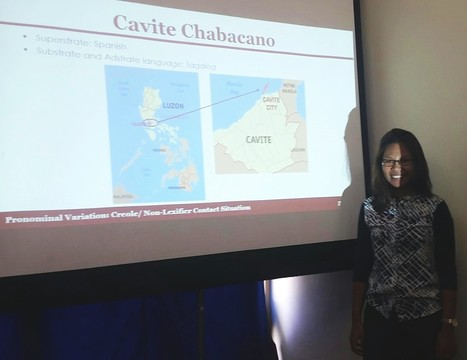 UMass PhD Student Sheryl Bernardo-Hinesley Presents Research at SCL 2016 held in Mona, Jamaica | The UMass Amherst Spanish & Portuguese Program Newsletter | Scoop.it
