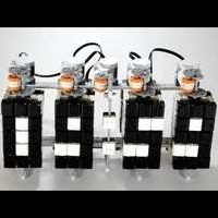 LEGO Digital Clock Reminds You How Much Time It Took To Build | LEGO | Scoop.it