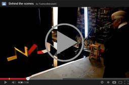 Karl Lagerfeld shooting Cassina - Fashion Illustrated | Salone del Mobile 2013 | Scoop.it