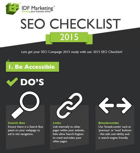 2015 SEO Checklist [Infographic] | B2B Marketing Blog | Webbiquity | B2B Marketing and PR | Scoop.it
