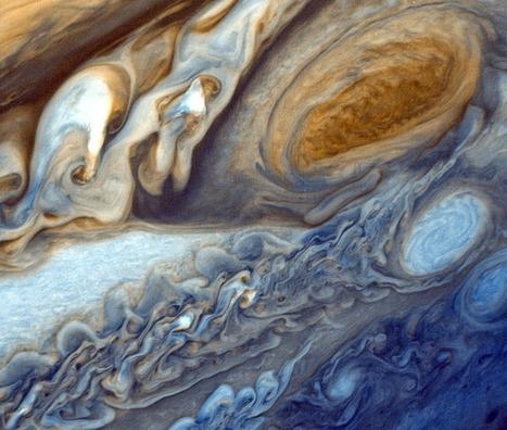 La météo du système solaire. Épisode 2 : Jupiter et Saturne ~ Sweet Random Science | Météorologie | Scoop.it