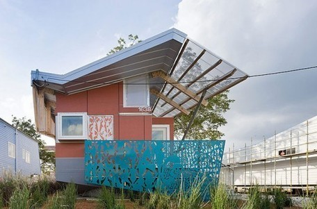 Make it Right's New Orleans FLOAT House by Morphosis | sustainable architecture | Scoop.it
