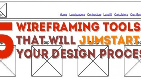 5 Wireframe Tools That Will Jumpstart Your Web Design Process | A Better User Experience | Desarrollo Web | Scoop.it