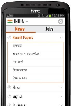 Local News Aggregator NewsHunt Tracks Regional News in 12 Different Languages | hobbitlibrarianscoops | Scoop.it